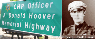 Officer A. Donald Hoover