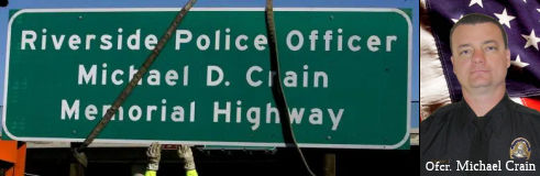 Officer Michael Crain Memorial Highway