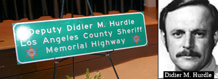 Los Angeles County Sheriff's Deputy Didier M. Hurdle Memorial Highway