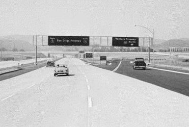 SSR 7 at US Hwy 101 -- Image posted by San Fernando Valley Relics on Facebook