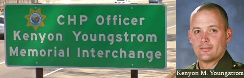 CHP Officer Kenyon Youngstrom Memorial Interchange