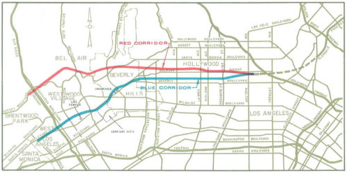 Beverly Hils Freeway Routes