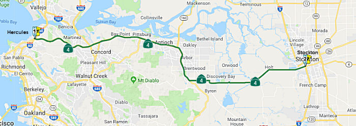 California Highways Cahighways Routes 1 Through 8