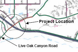 Live Oak Canyon Project