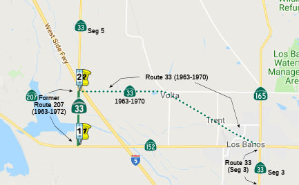 California Highways (www cahighways org): Routes 33 through 40