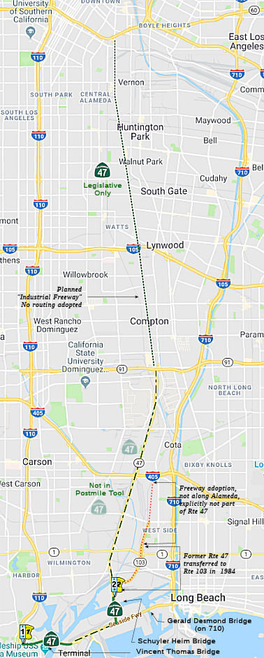 California Highways (www cahighways org): Routes 41 through 48