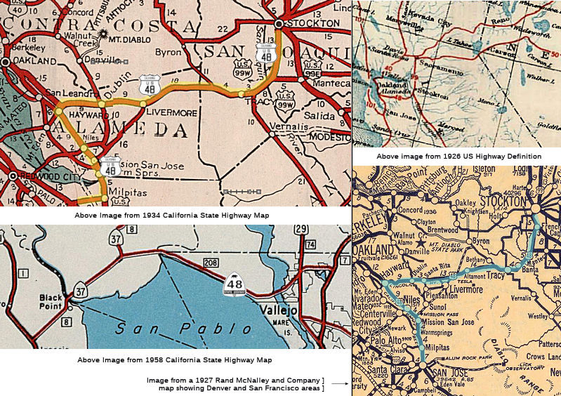 California Highways (www cahighways org): Routes 41 through 48