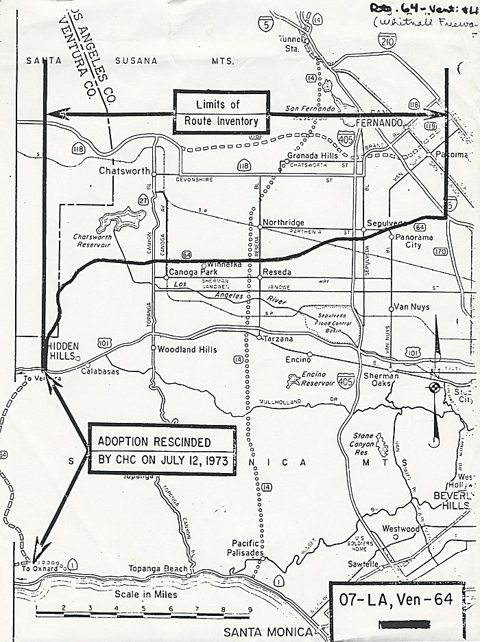 California Highways Www Cahighways Org Routes 57 Through 64
