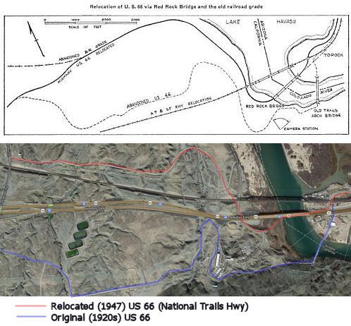 California Highways Wwwcahighwaysorg Routes Through - Us 66 map