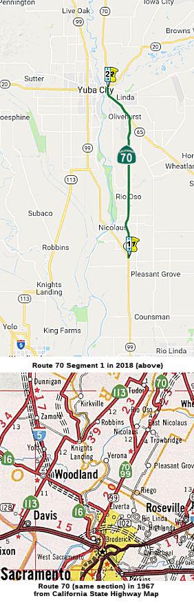 California Highways (www cahighways org): Routes 65 through 72