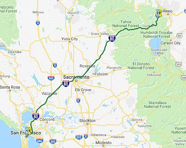 California Highways (www cahighways org): Routes 73 through 80