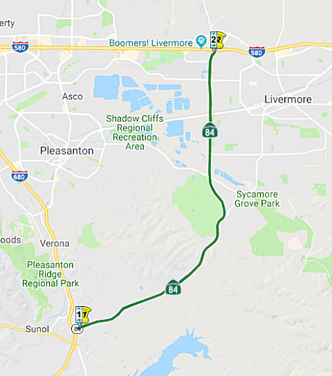 California Highways (www cahighways org): Routes 81 through 88