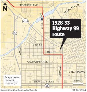 California Highways (www cahighways org): Routes 97 through 104