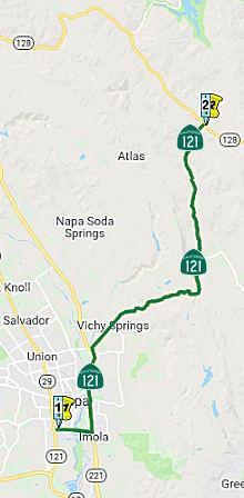 California Highways (www cahighways org): Routes 121 through 128