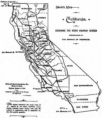 [1896 State Highway Map]