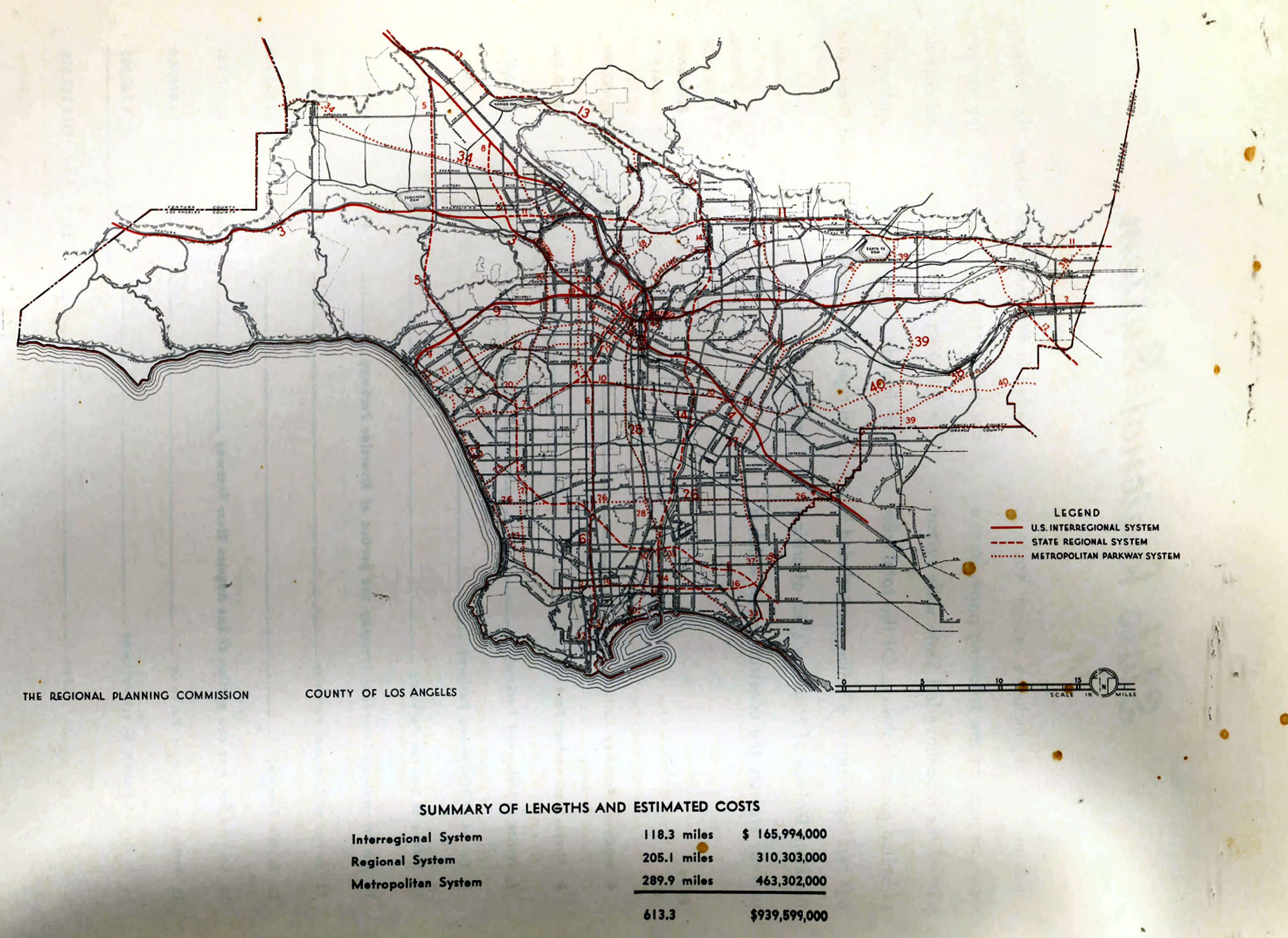 California Highways Wwwcahighwaysorg Southern California - Los angeles ventura map