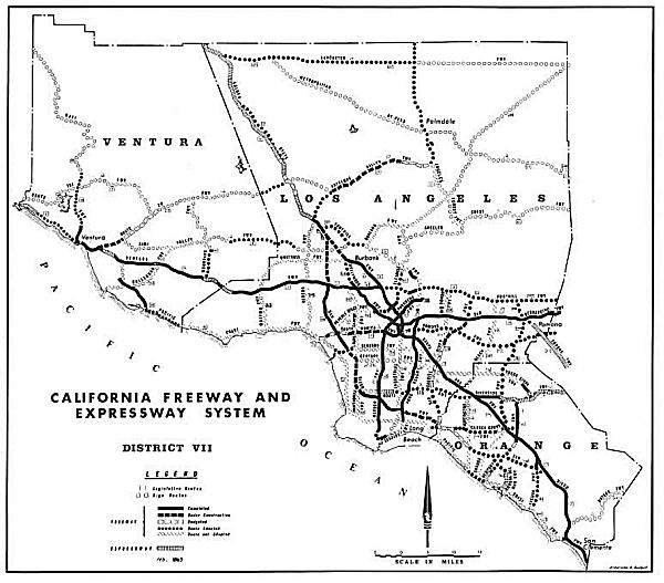 1963 Freeway and Expressway System