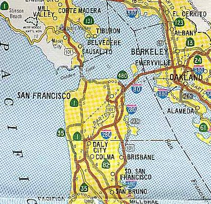 California Highways Www Cahighways Org Telling A Story Through Highway And Planning Maps San Francisco Bay Area Freeway Development Part 1 The City Of San Francisco Hand drawn city map of raalte (called after some dutch town). california highways www cahighways org