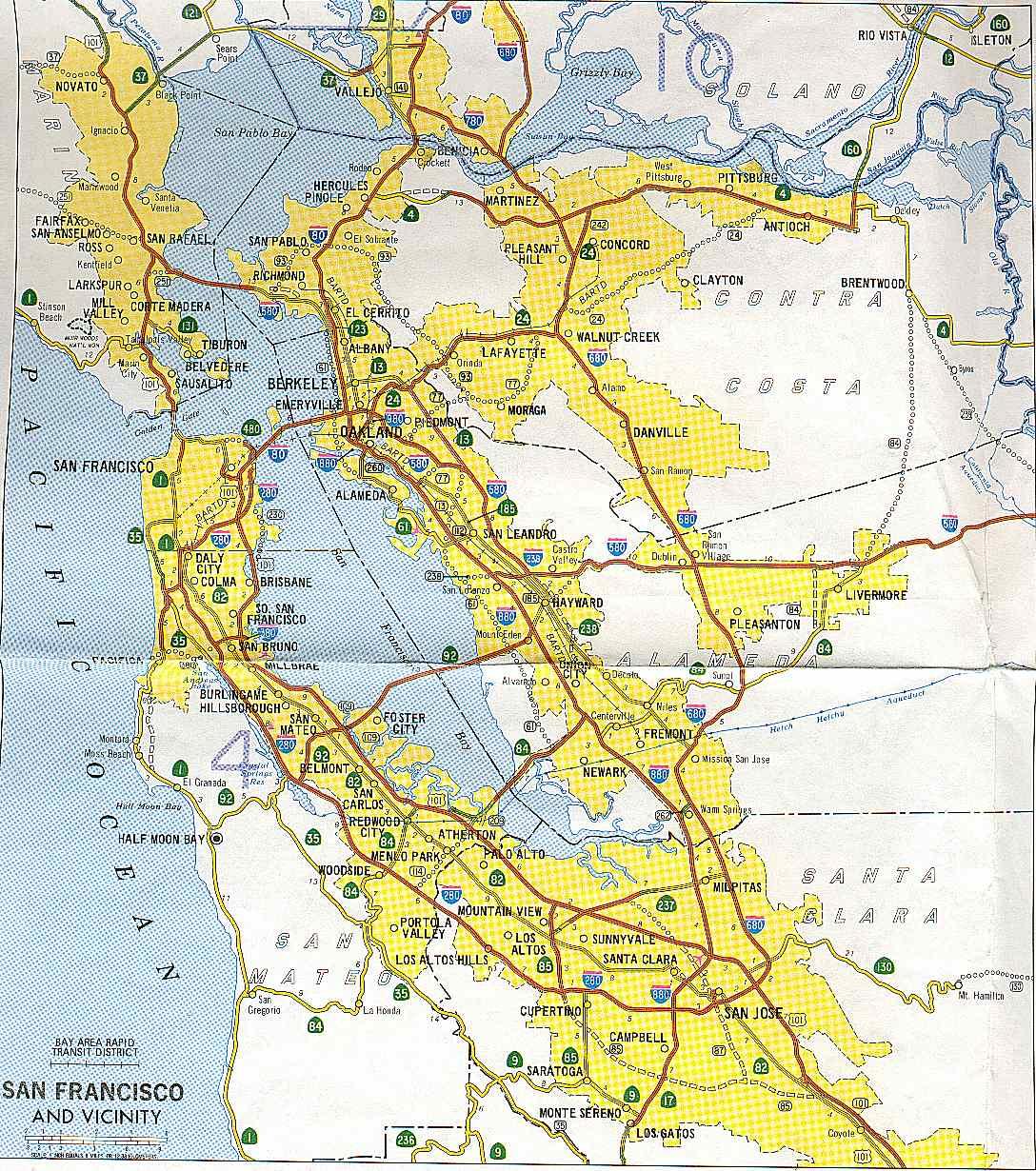 California Highways wwwcahighwaysorg San FranciscoBay Area