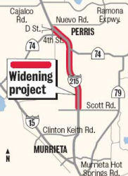 215 Widening Map