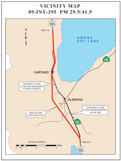 California Highways (www cahighways org): Routes 305 through 440