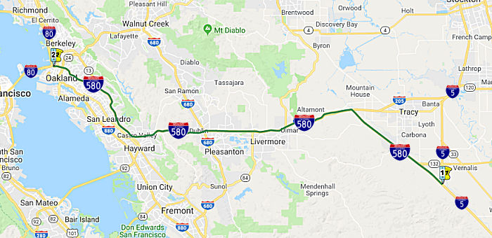 California Highways (www cahighways org): Routes 466 through 740