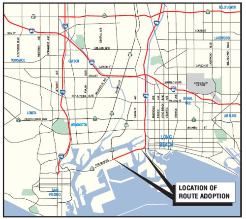 Gerald Desmond Bridge Route Adoption