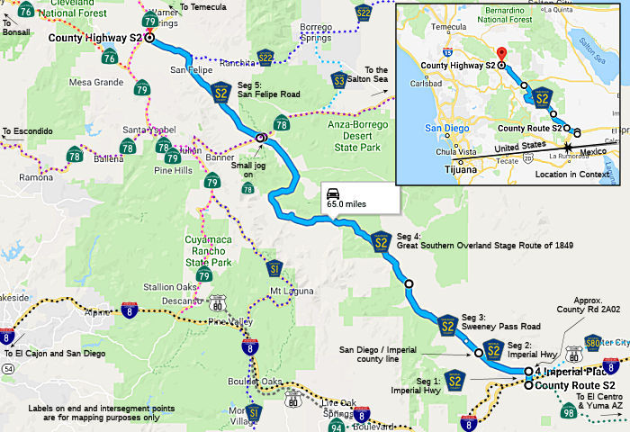 California Highways (www.cahighways.org): County Routes