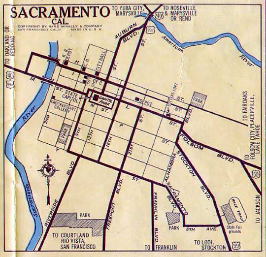 Sacramento in 1933 (snarfed from Robert Droz's site courtesy the wayback machine)