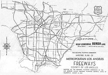 [Thumbnail: 1947 Freeway Plan]