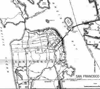 [Thumbnail of 1963 SF State Highway Map]