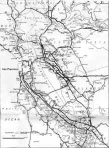 [Thumbnail of 1963 SFBay State Highway Map]