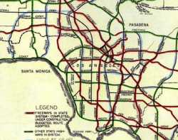 [Thumbnail of 1956 Freeway and Expressway Plan]